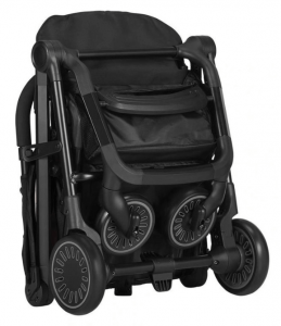 Easywalker Buggy XS Black ingeklapt - Comfortabele buggy