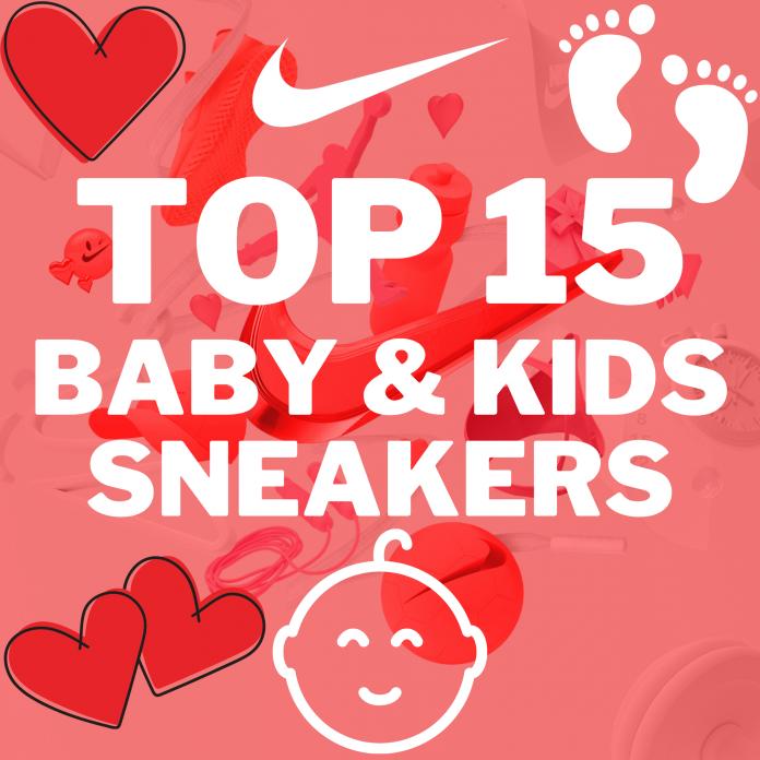 Top 15 nieuwste, leukste en mooiste Nike babysneakers en Nike kidssneakers