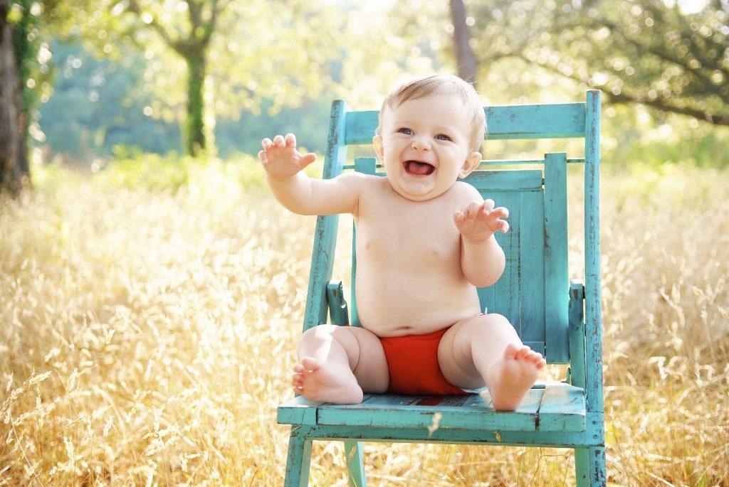 baby lachen
